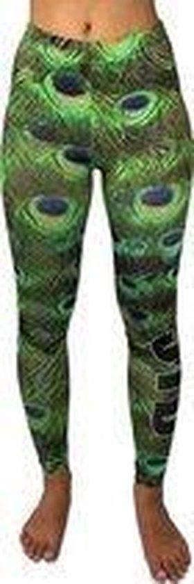 jtb-store - high waist sport legging yoga dames - fantasy print - maat S