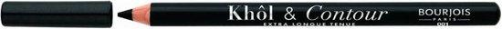 Bourjois KOHL&CONTOUR Oogpotlood - Black - 1 -Zwart
