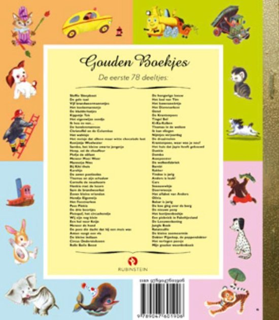 Gouden Boekjes  -   Pietepaf het circushondje
