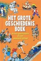Boek cover Het grote geschiedenisboek van Wim Daniëls (Hardcover)