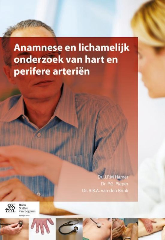 Boek cover Anamnese en lichamelijk onderzoek van hart en perifere arterien van J.P.M Hamer (Paperback)