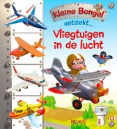 Kleine Bengel ontdekt  -   Vliegtuigen in de lucht