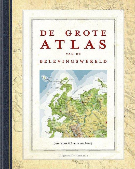 Boek cover De Grote Atlas van de Belevingswereld van Jean Klare (Hardcover)