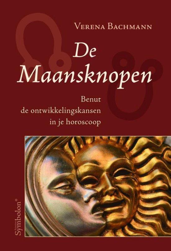 Cover van het boek 'De Maansknopen' van V. Bachmann