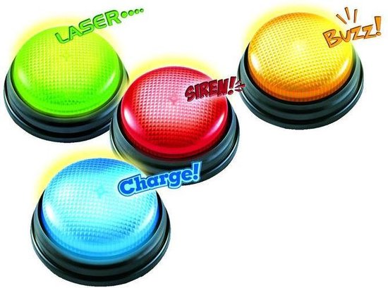 Afbeelding van het spel Spel Fool's Games 4 Quiz Buzzers