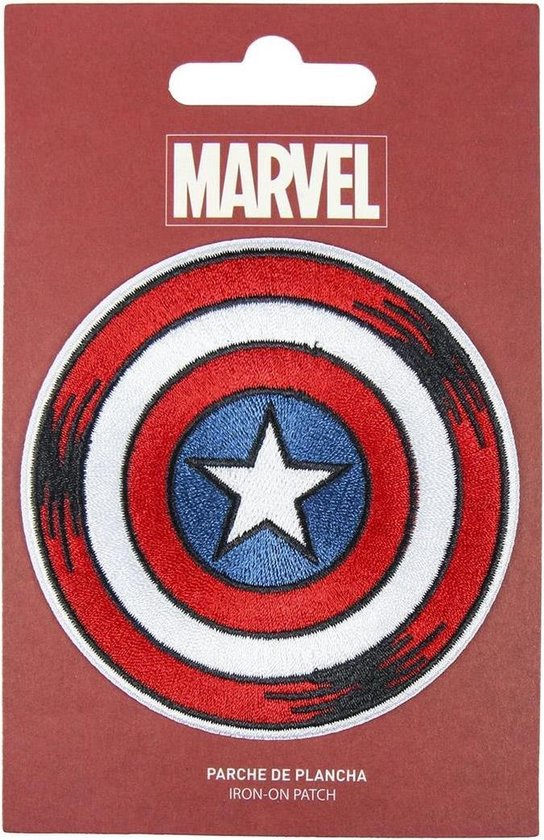 MARVEL - Captain America - Iron-on Patch