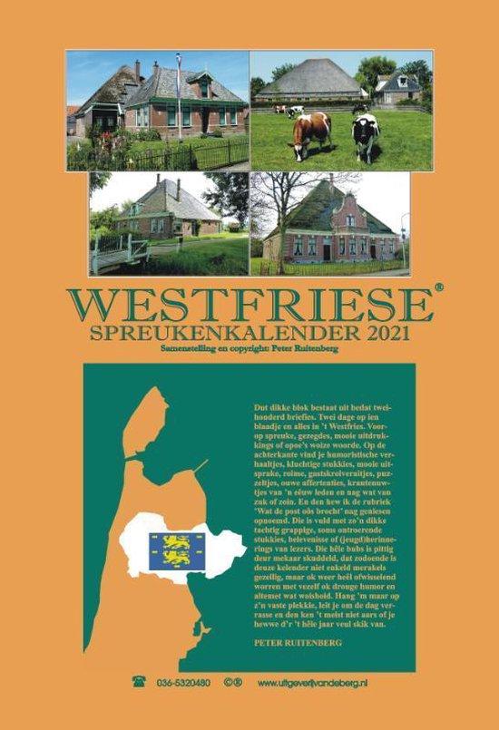 Westfriese spreukenkalender 2021