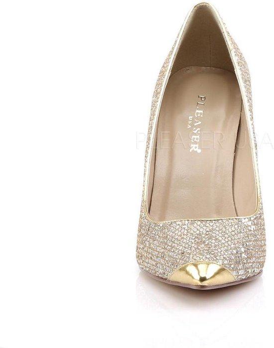 Pleaser Pumps -47 Shoes- Classique-20 Us 16 Goudkleurig IofWfn