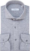 Dutch Dandies Knitted Slim fit Overhemd Heren lange mouw