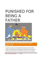 Punished For Being A Father