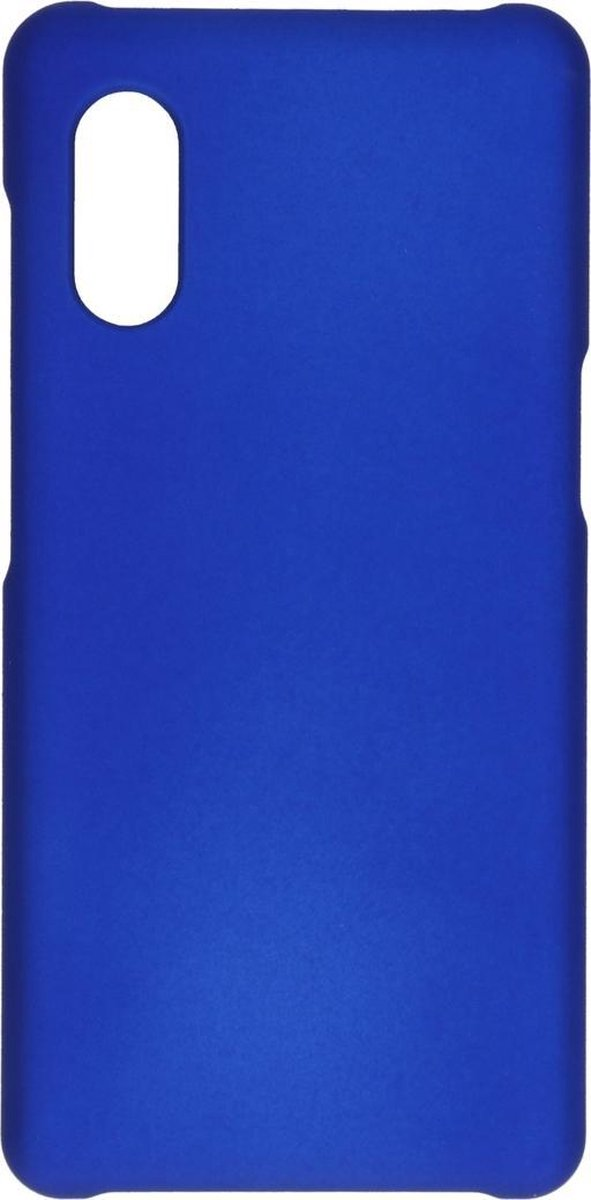 Afbeelding van product Effen Backcover Samsung Galaxy Xcover Pro hoesje - Blauw
