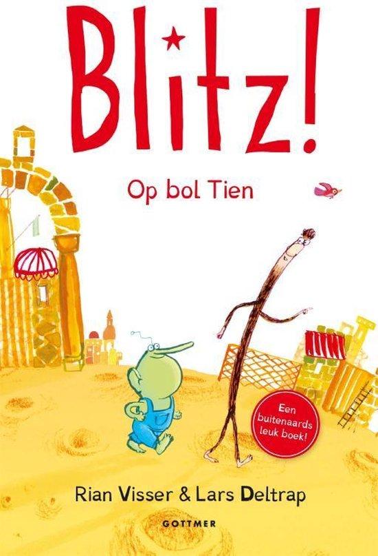 Boek cover Blitz! - Op bol Tien van Rian Visser (Hardcover)