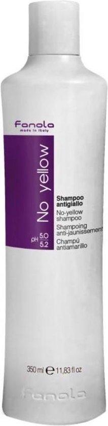 Fanola No Yellow Zilvershampoo - 350ml