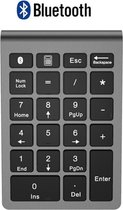 Draadloze Numpad - Draadloos Numeriek Toetsenbord - 22 toetsen - Bluetooth - Space Gray