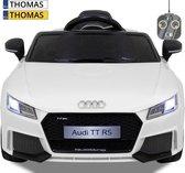 Audi kinderauto TT RS wit