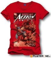 SUPERMAN - T-Shirt Sacrifice - Red (S)