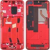 Originele middenkaderring voor Huawei Honor V30 (rood)