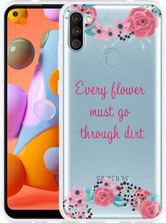 Samsung Galaxy A11 Hoesje Every Flower