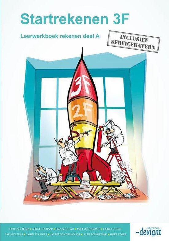 Startrekenen Leerwerkboek 3F - Rob Lagendijk | Fthsonline.com