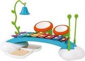 Imaginarium Speelgoed Xylofoon de Luxe - Met Bongo's en Bel - Inclusief Bladmuziek - Vanaf 18 Maanden