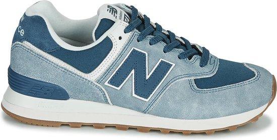 bol.com | New Balance - Heren Sneakers ML574SPD - Blauw ...