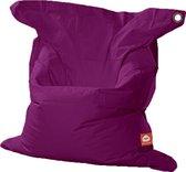 Whoober Rechthoek zitzak St. Tropez XL outdoor paars - Wasbaar - Geschikt voor buiten