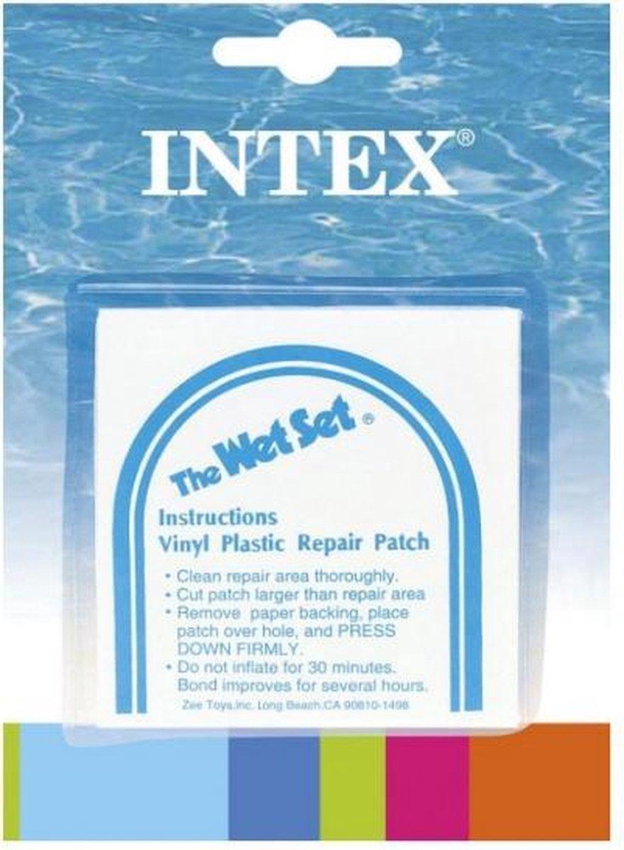 18x Opblaas artikelen reparatie plakkers - Reparatieset voor opblaasbare artikelen
