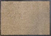 Ecologische droogloopmat taupe - 38 x 58 cm