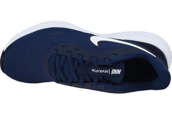 Sportschoenen - Maat 43 - Mannen - donkerblauw/wit