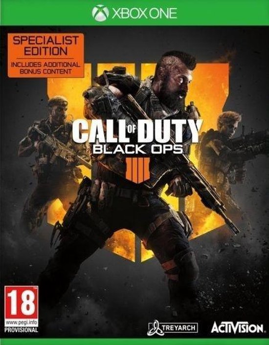 Call of Duty: Black Ops 4 - Specialist Edition - Xbox One - Activision
