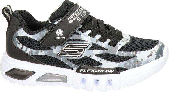 Bol Com Skechers S Lights Jongens Klittenband Sneaker Zwart Maat 31