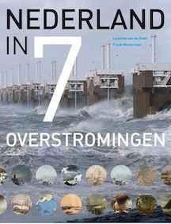 Cover van het boek 'Nederland in 7 overstromingen' van Leontine van de Stadt