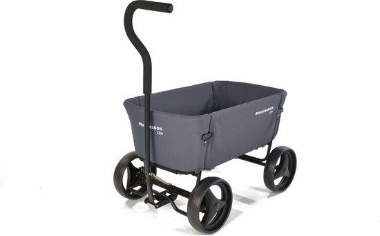 Bolderkar opvouwbaar   Beach Wagon LITE® Donkergrijs