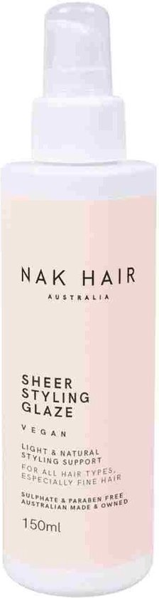 Nak Styling Sheer Styling Glaze Gel Hold 2 150ml