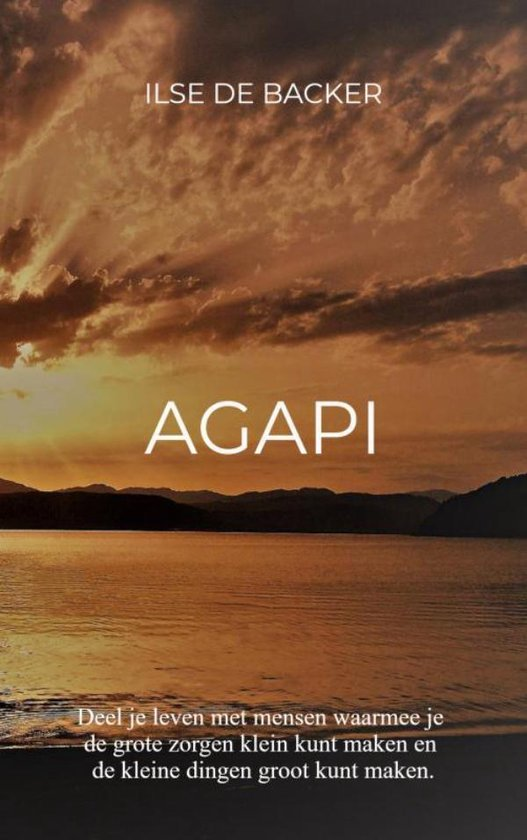 AGAPI - Ilse de Backer |