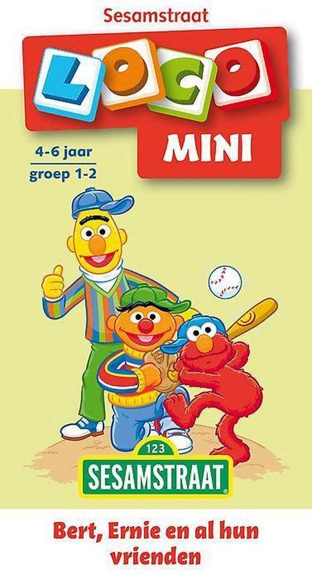 Mini Loco Sesamstraat Bert En Ernie Vriendjes 1 - none  