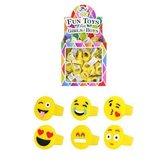 156 Stuks | Kinderringen - Model: Smiley's in Traktatiebox (Uitdeelcadeautjes)