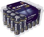 Varta AA Alkaline Batterijen - 24 stuks