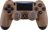 PS4, Wireless Dualshock 4 Controller V2 – Wood Custom