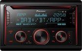 Pioneer FH-S820DAB Autoradio Dubbel din CD Tuner-USB-DAB+ - 4 x 50 W
