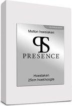 Molton Hoeslaken - Silver