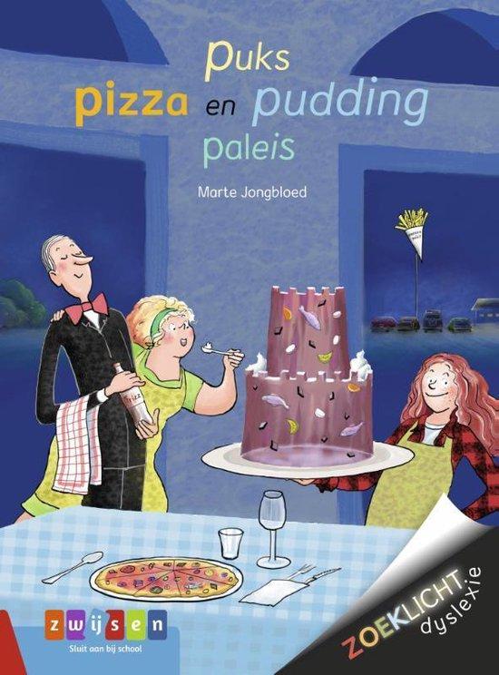 Zoeklicht Dyslexie - Puks pizza en pudding paleis