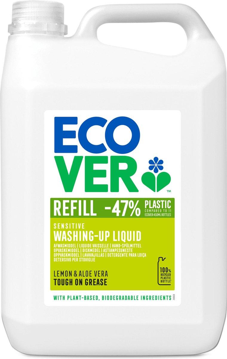 Ecover Afwasmiddel - Citroen & Alo  Vera - Voordeelpakket 5L
