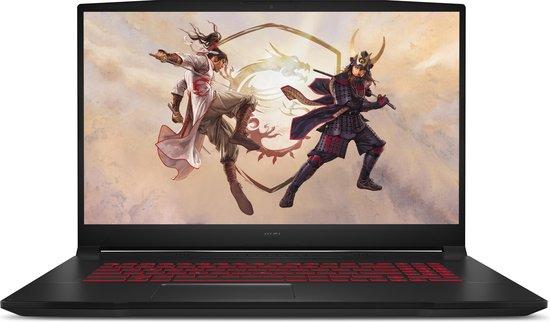 MSI Gaming GF76 11UD-008NL Katana - Gaming Laptop - 17.3 inch - 144 Hz