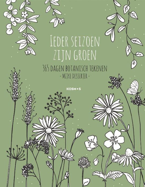 Boek cover Ieder seizoen zijn groen van Mijke Desserjer (Hardcover)