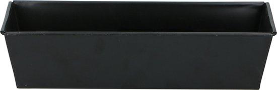 alpina Cakevorm - Cakeblik - Bakvorm - 30x11x7,3cm - met Anti-Aanbaklaag - Zwart