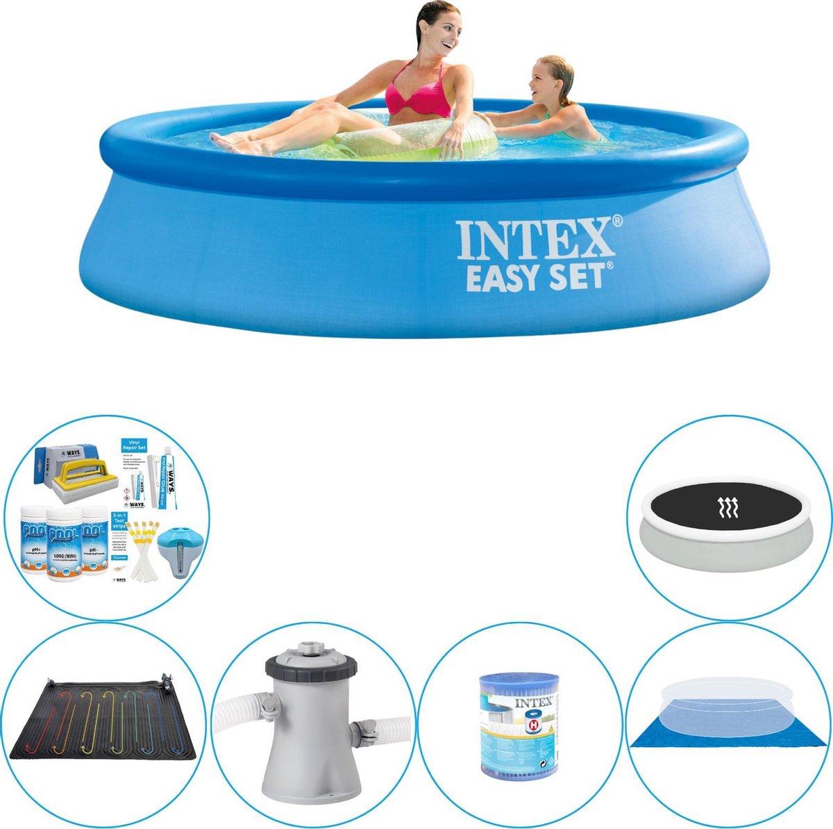 Intex Easy Set Rond 244x61 cm - Slimme Zwembad Deal