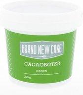 Brand New Cake - Cacaoboter Gekleurd Groen (200g)