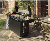 Aanbieding! XXL BBQ Gasbarbecue RVS 40+ Steaks