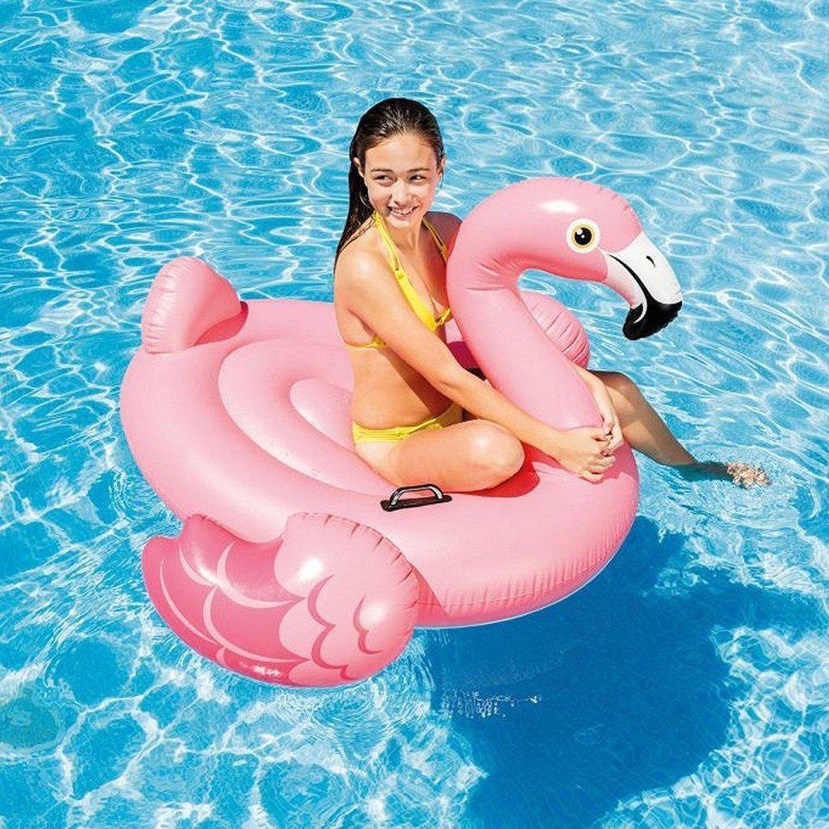 Intex 57558NP Flamingo Ride-On 142x137x97 cm